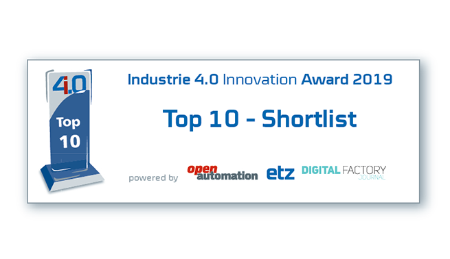 Logo Industry 4.0 Innovation Award